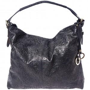 Debora leather shoulder bag