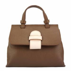 Donatella leather Handbag