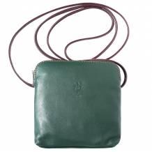 Mia leather unisex cross body bag