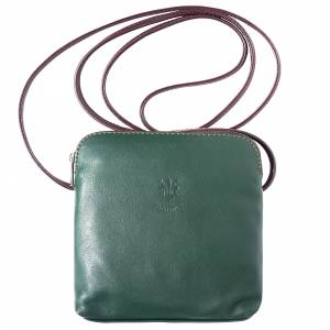 Mia leather unisex cross body bag