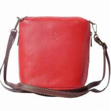 Leather cross body bag Felicità