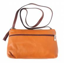 City cross-body leather bag - Stock