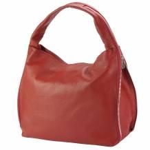 Carmen leather shoulder bag