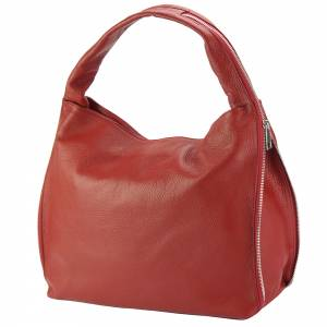 Carmen leather shoulder bag