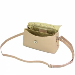 Smart leather Cross-body bag