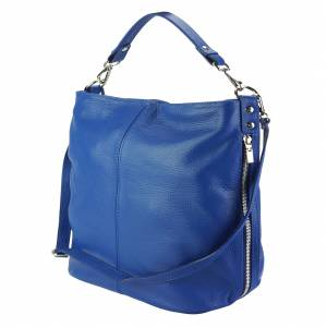 The Donata Leather Hobo Bag