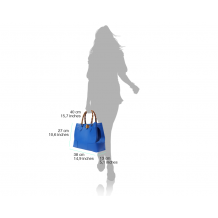 Fabrizia Leather Handbag
