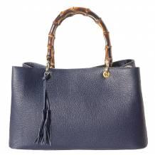 Veronica leather handbag