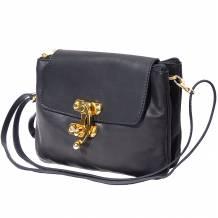 Elvira leather clutch