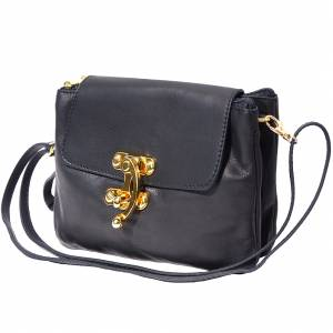Elvira leather clutch