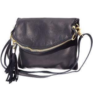 Graziella folded clutch in soft calf skin leather