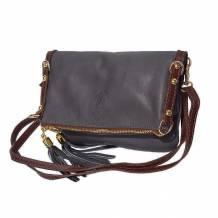 Giorgia GM leather clutch