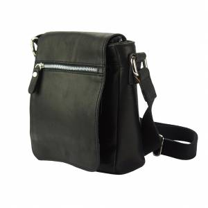 Messenger Camillo with genuine leather