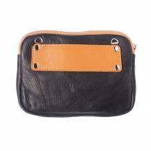 Small purse with silver chain strap