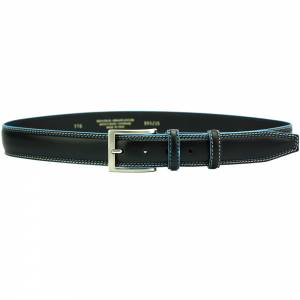 Blue Square Men's leather belt