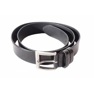 Plain Leather belt Diego toscani
