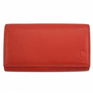 Iris leather wallet