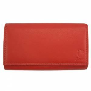 Iris leather wallet