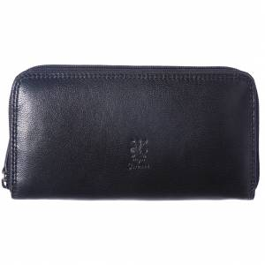 Zippy Wallet in soft cow leather