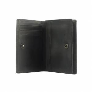 Card Holder Enveloppe in vintage leather
