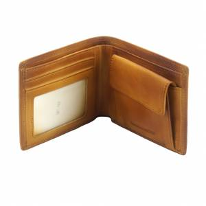 Wallet Attilio in vintage leather