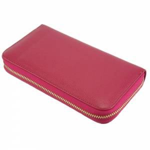 ZIPPY D Wallet in cow leather
