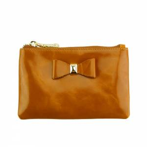 Jessica Leather Coin Card Holder