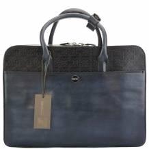 ZENOBI Leather Hand-bag - Stock